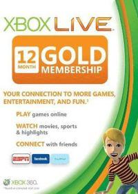 G2A: Xbox Live Gold de 12 meses a $787