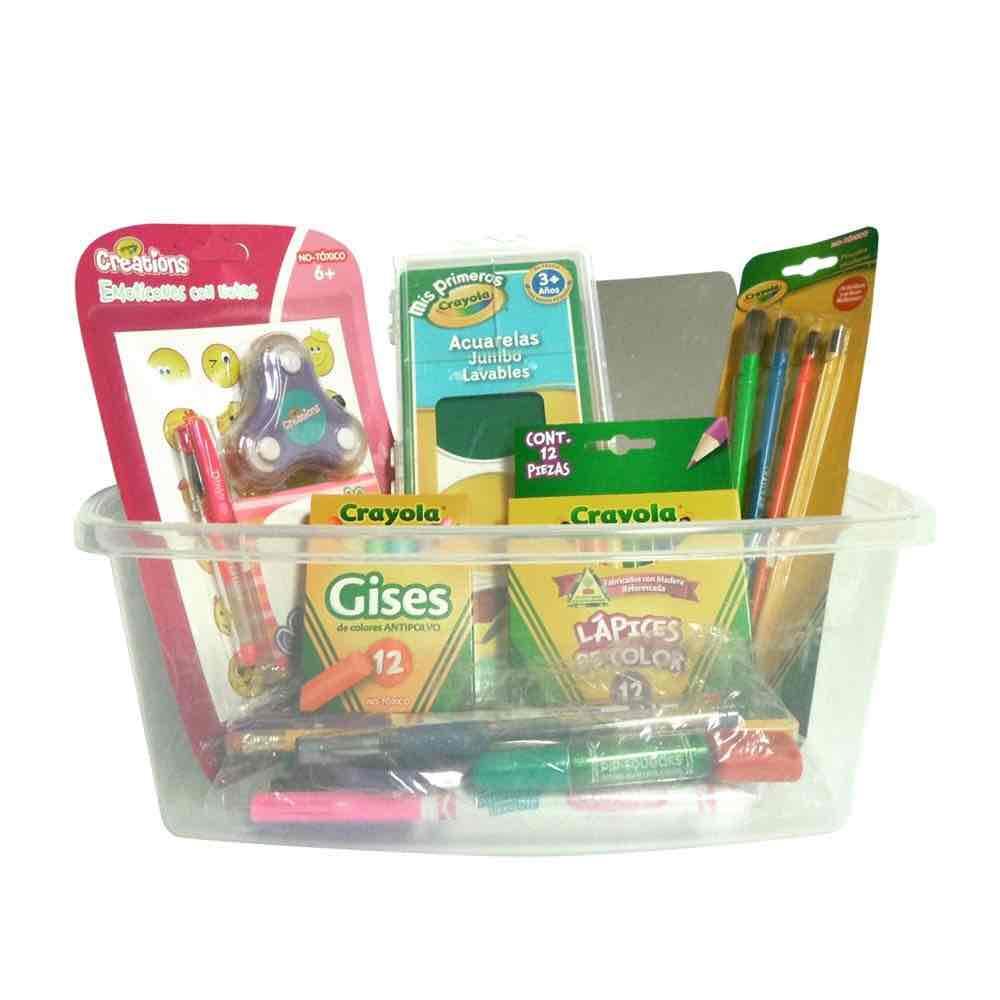 Walmart en línea: paquete de útiles escolares Crayola con 96 Piezas