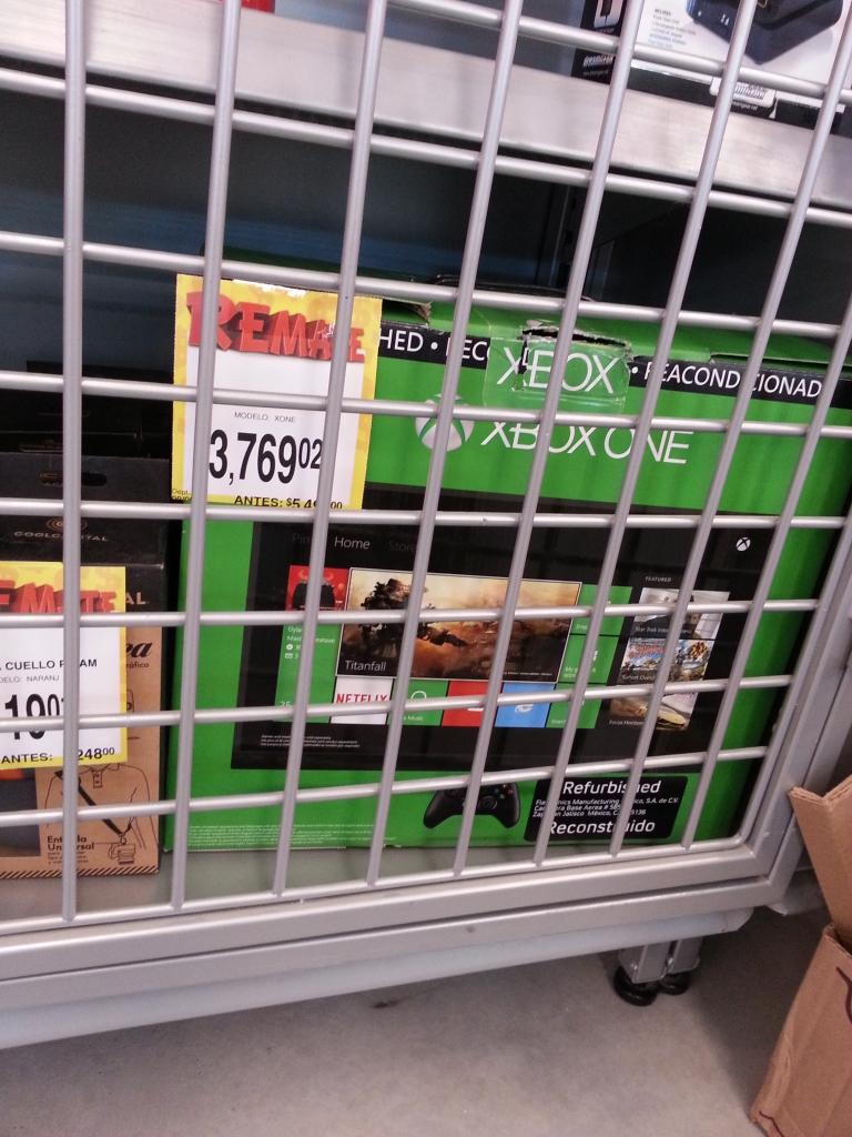 Bodega Aurrerá: consola Xbox One reacondicionada 500Gb a $3,679.02
