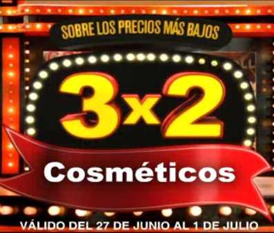 Julio Regalado junio 27: 3x2 en cosméticos