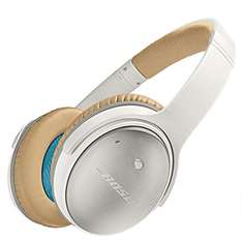 Amazon: Bose QuietComfort 25 - Audífonos con cancelación de ruido para Apple, Blanco