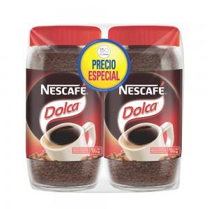 Chedraui en linea, GDL Vallarta: Café Nescafé Dolca Con Azúcar 170 Gr