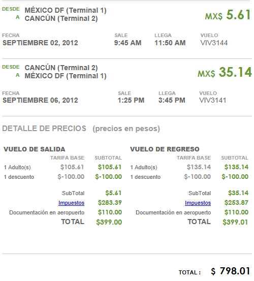 Vivaaerobus: vuelos nacionales desde $399