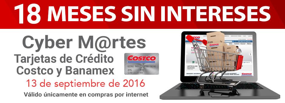Costco: Cyber M@rtes 18 MSI pagando con Banamex ó cupón de $300 con compra mínima el miércoles 14