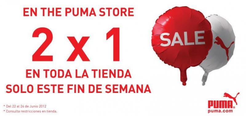 Puma: 2x1 en toda la tienda