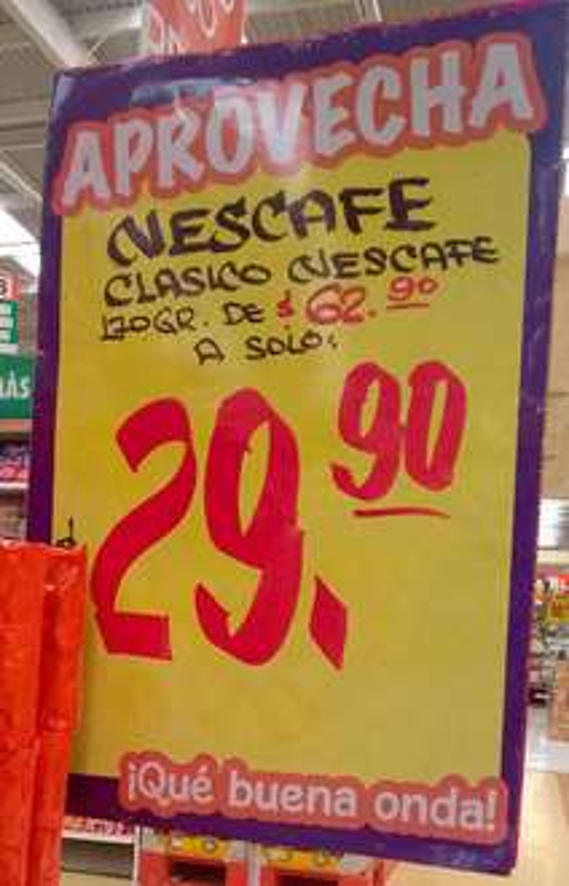 Comercial Mexicana Mega: Nescafe Clásico de 170 gr. a $29.90
