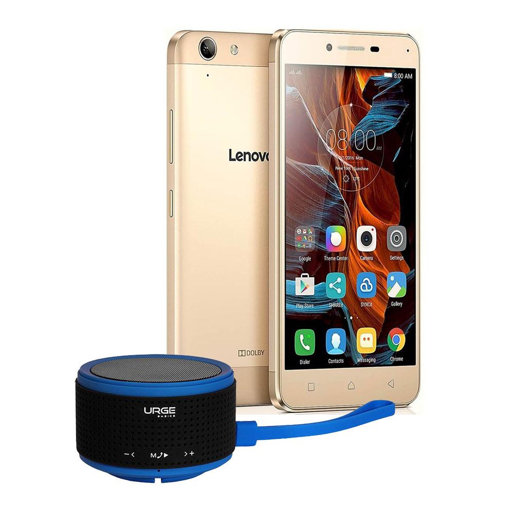 Walmart: Lenovo K5 Special Edition 16 GB Dorado 4G LTE Desbloqueado incuye Bocina