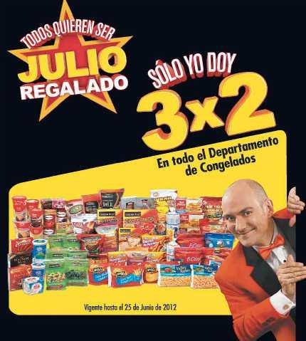 Folleto Julio Regalado Junio 22: 3x2 en todos los congelados, Red Bull, productos Nestlé y más