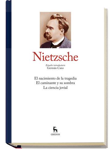 Colección Grandes Pensadores  de editorial Gredos: Nietzsche I a $69.90