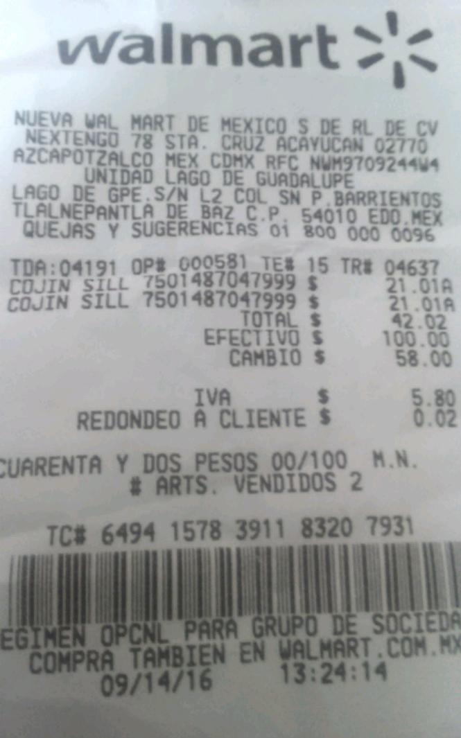 Walmart: cojin de silla, última liquidación a $21.01