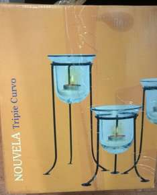 Walmart: Bases decorativas para velas a $42.01