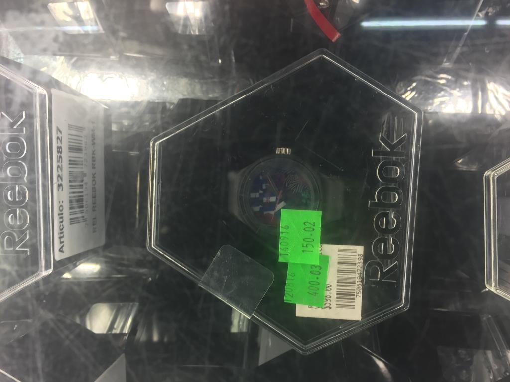 Walmart: reloj reebok de $598 a $150.02