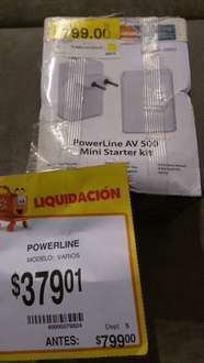 Walmart: Powerline DLink a $379.01