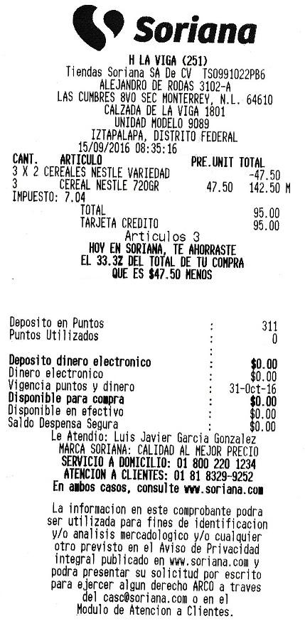 Soriana Híper: 3x2 Variedad de Cereales Nestlé: Nesquik 720 grs. 3x$95.00 y te regalan 300 puntos adicionales