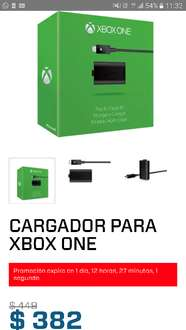 Gamers: Kit de Carga y juega xbox one $382.00