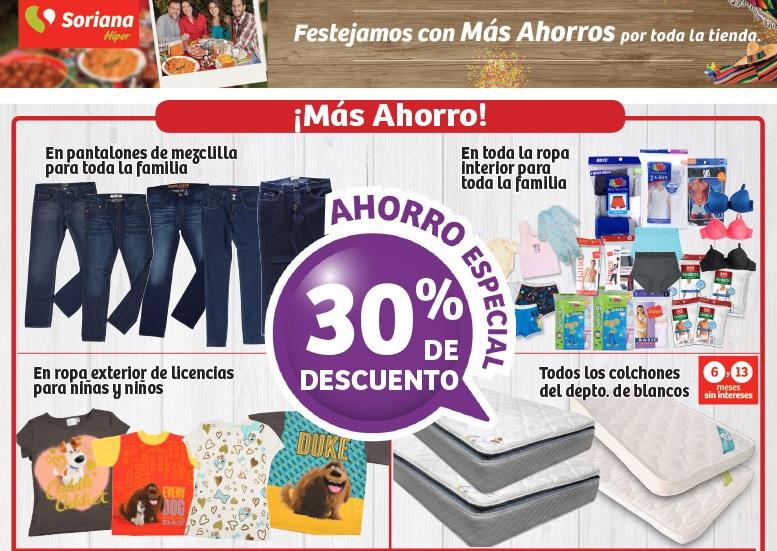 Soriana Híper: Ofertas Fin de Semana Patrio: 3x2, descuentos, dinero electrónico, y más ofertas