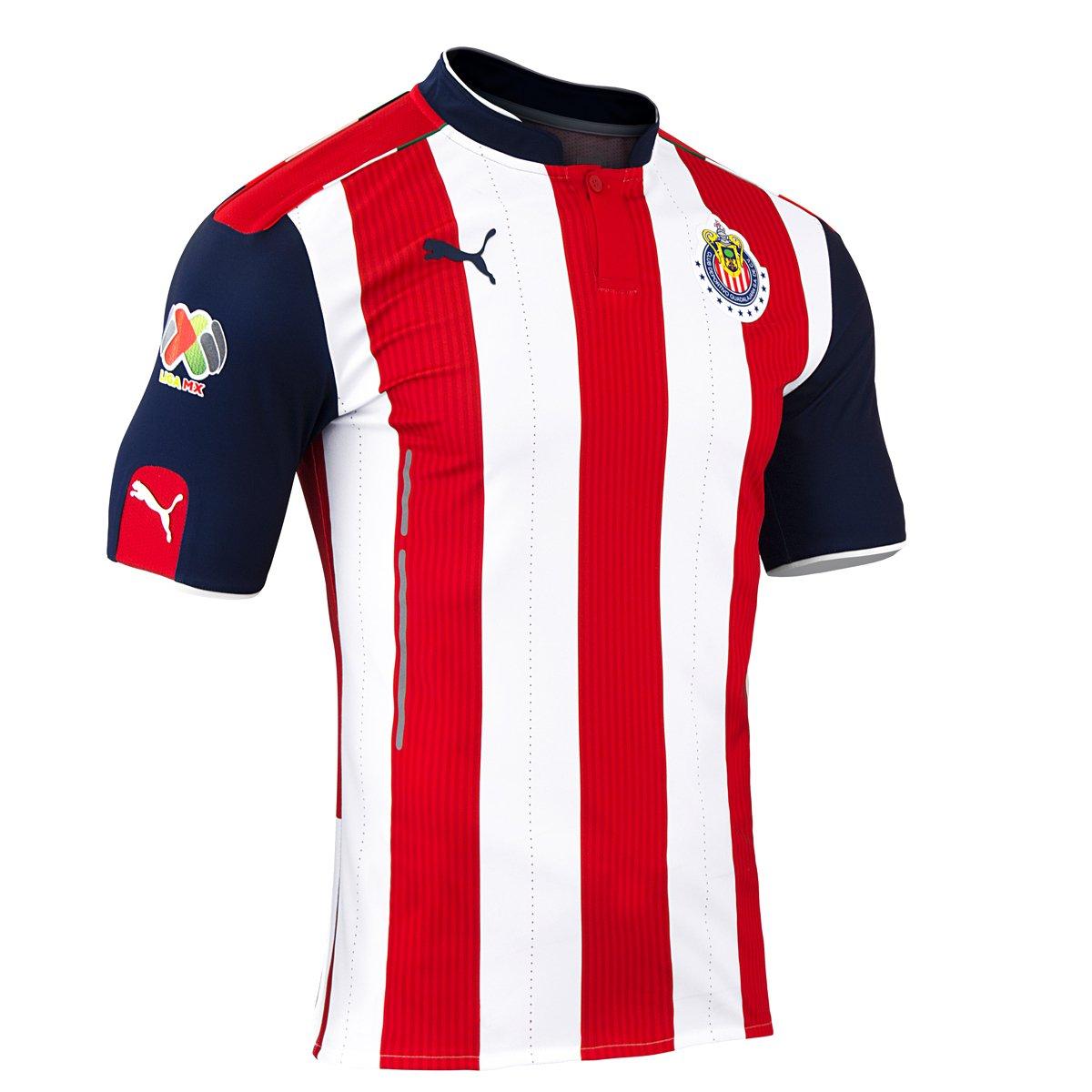 Claro Shop: jersey Chivas (Puma) local y visitante a $909 + envío