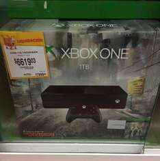 Walmart Plaza Oriente: Xbox One 1Tb The División a $6,619.03