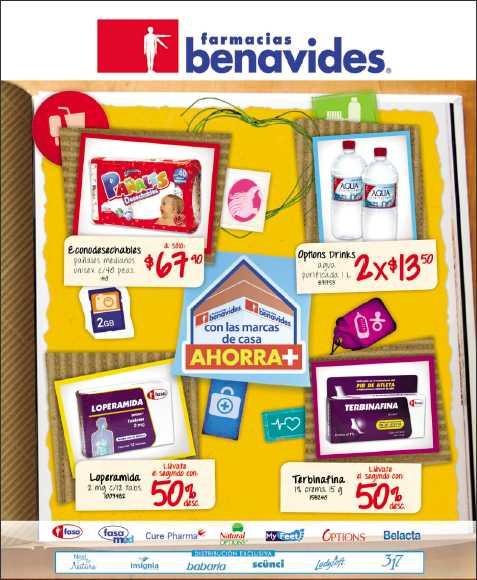 Folleto Farmacias Benavides: 3x2 en Kotex, pañales Pampers y más