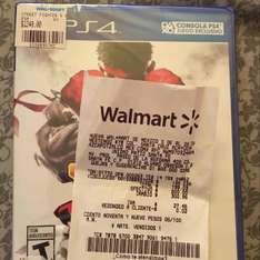 Walmart: Super Street Fighter 5 a $199.03