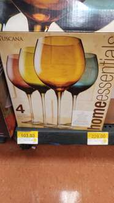 Walmart: juego de copas a $103.03