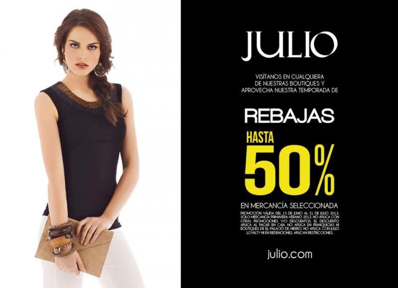 Julio: rebajas de hasta 50% de descuento