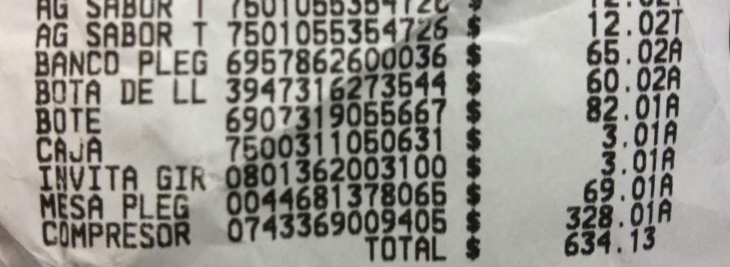 Walmart: Bote para basura a $82.01, compresor a $328.01