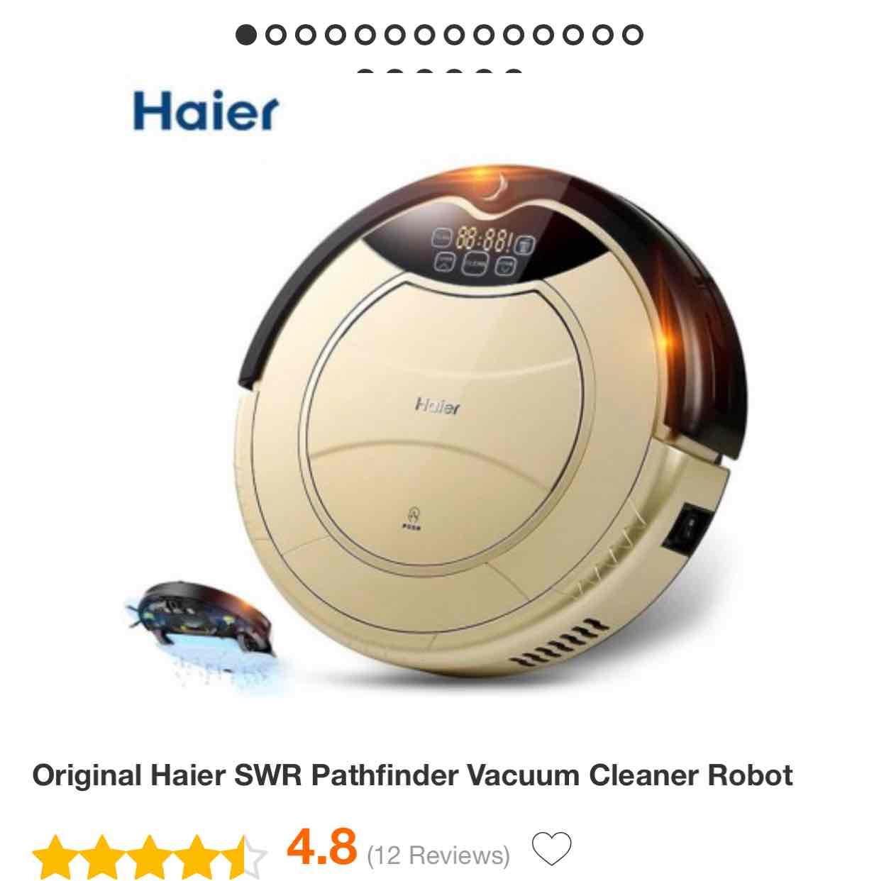 Gearbest: Robot Aspiradora Haier a $165 USD