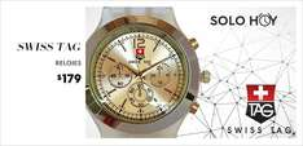Ösom: Relojes Swiss Tag para Hombre y Mujer de $399 a $179