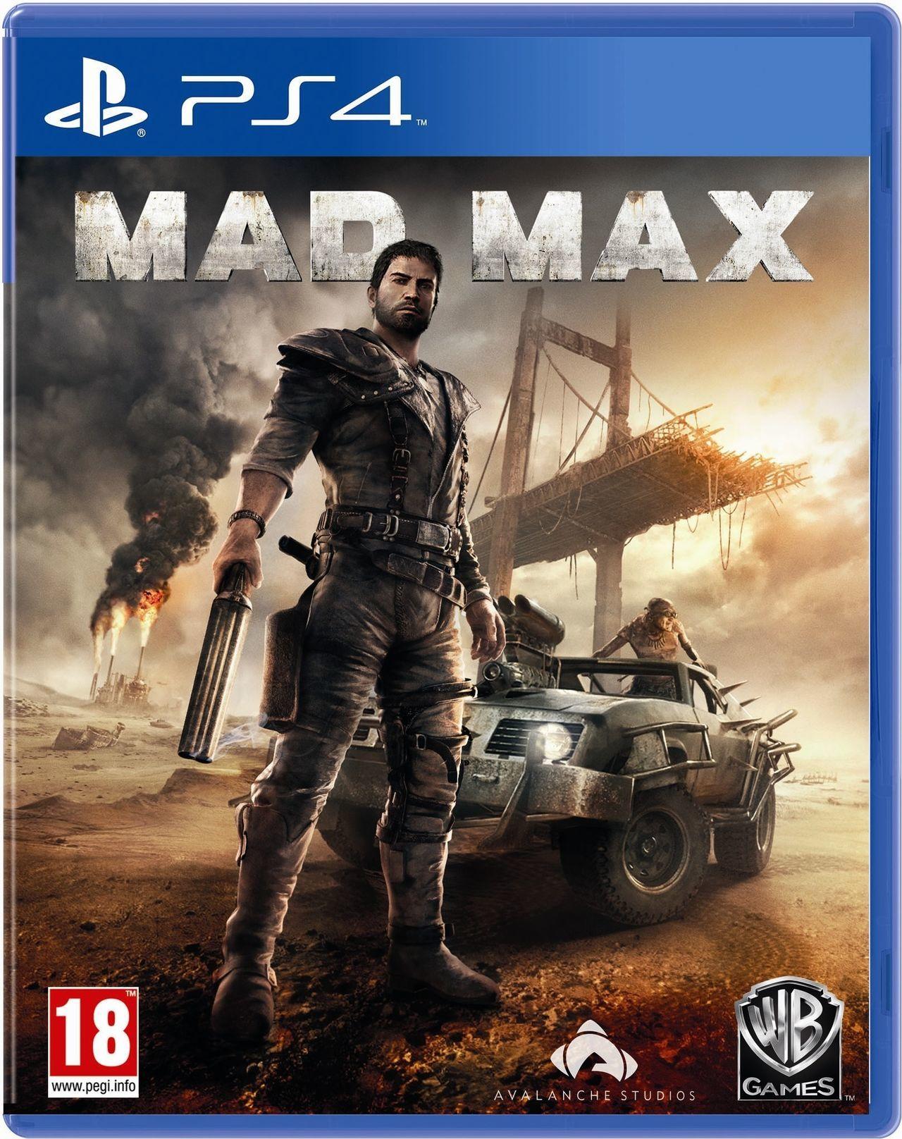 Amazon: Mad Max para XONE $249 y PS4 $374