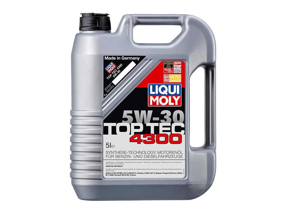 Liverpool: Aceite Liqui Moly Sintetico TopTec 4300 a $874
