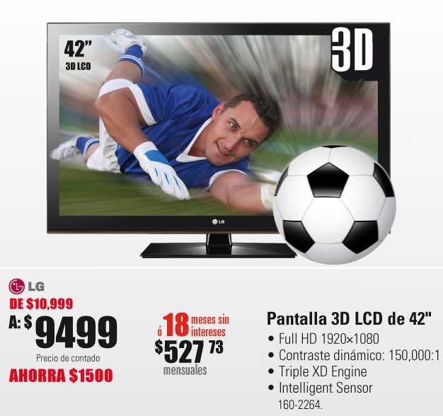 """RadioShack: PS3 a $4,499, pantalla LCD 3D de 42"""" a $9,499 y más"""