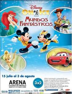 3x2 en boletos para Disney On Ice