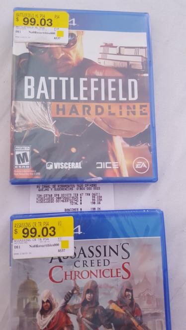 Bodega Aurrerá: Battlefield Hardline para PS4 a $99.03