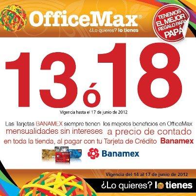OfficeMax: promociones especiales por el día del Padre (actualizado)