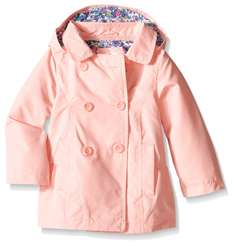 Amazon: Carter's Baby Girls' Solid Poly Trench Coat a $162