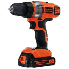 Amazon: Black and Decker LDX220C Taladro, 20 Volts, Inalámbrico