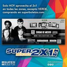 Superboletos: The Libertines al 2x1 y otros eventos más