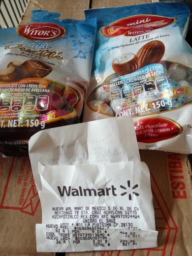 Walmart Parque Celaya: huevos de chocolate witors 150 gr a $9.01