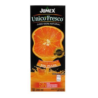 Walmart Reforma Saltillo: Jugo Jumex único 200 ml, Playeras y Sandalias en liquidación