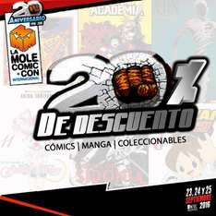 Editorial Panini: 20% de descuento en cómics, manga, coleccionables