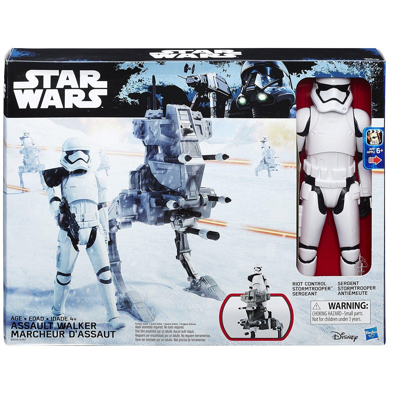 Amazon: Star Wars Figura Titan Episodio 7 Hero Series Assault Walker, 12 pulgadas
