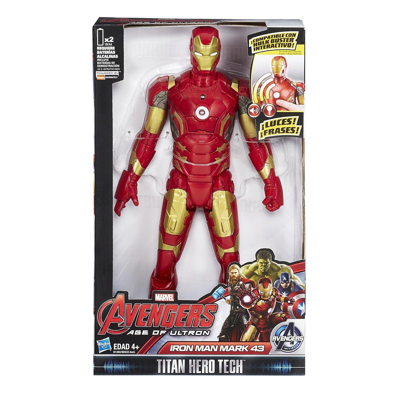 AMAZON MEXICO: Figura Titan Tech Iron Man (Versión en Español)