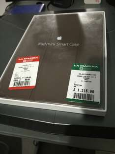 Tienda La Marina: iPad mini 1-3 Smart case cafe de piel Apple