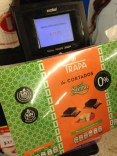 Walmart Plaza City Center Villahermosa: Chocolates Trapa Cortado Stevia