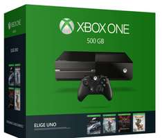 Amazon: Xbox One elige tu juego bundle $4,949 con Banamex