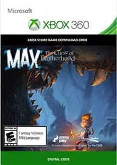 Max: The curse of brotherhood para Xbox 360 gratis (digital)