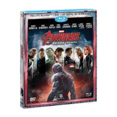Amazon MX: Avengers Era de Ultron (Trihibrido) [Blu-ray + dvd + HD digital de la pelicula ]