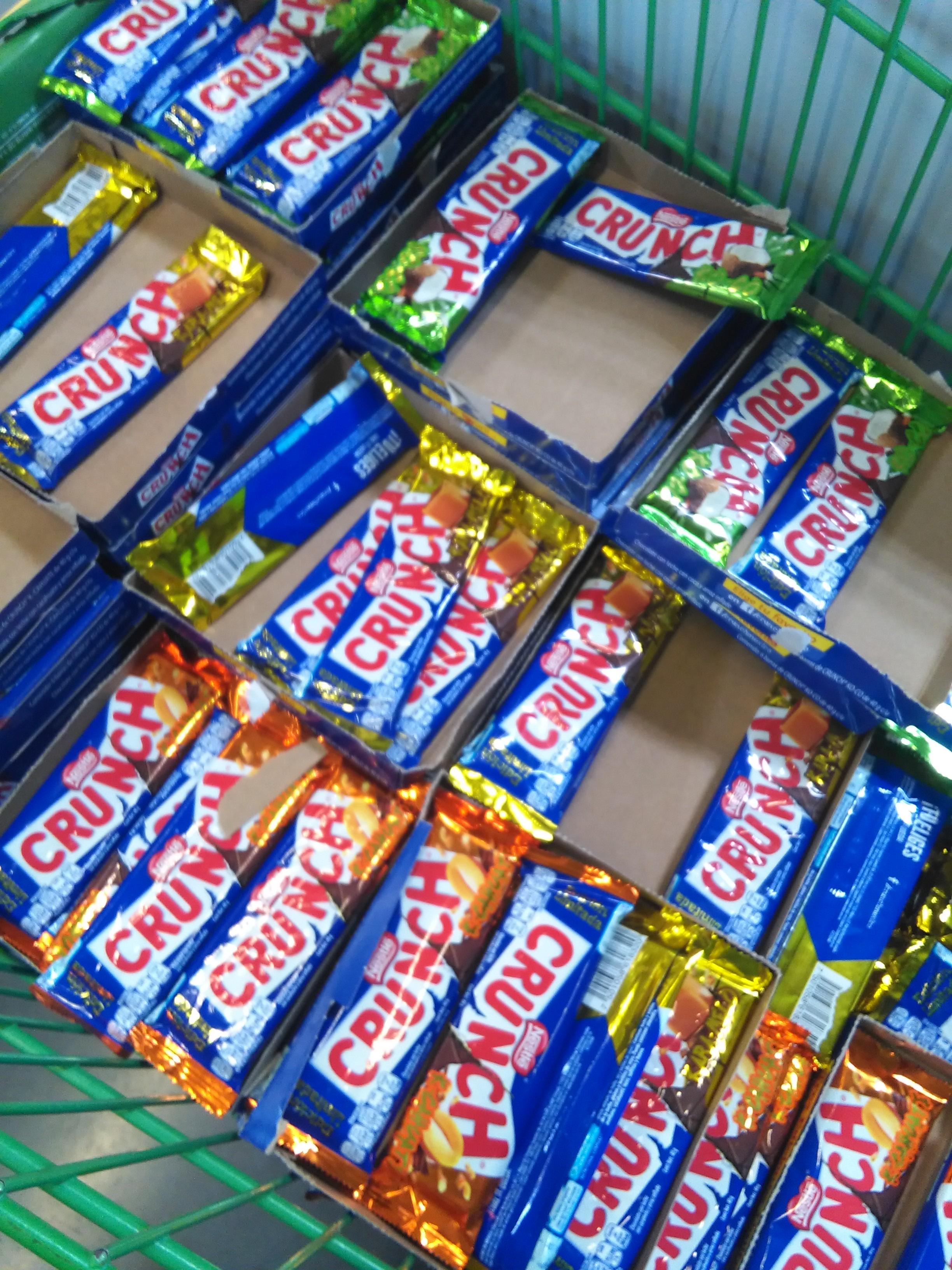 Bodega Aurrerá Escobedo:chocolate Crunch a $5.02, plancha Taurus a $75.02 y más