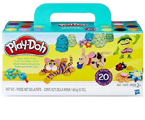 Amazon: Play Doh Maletin 20 latas